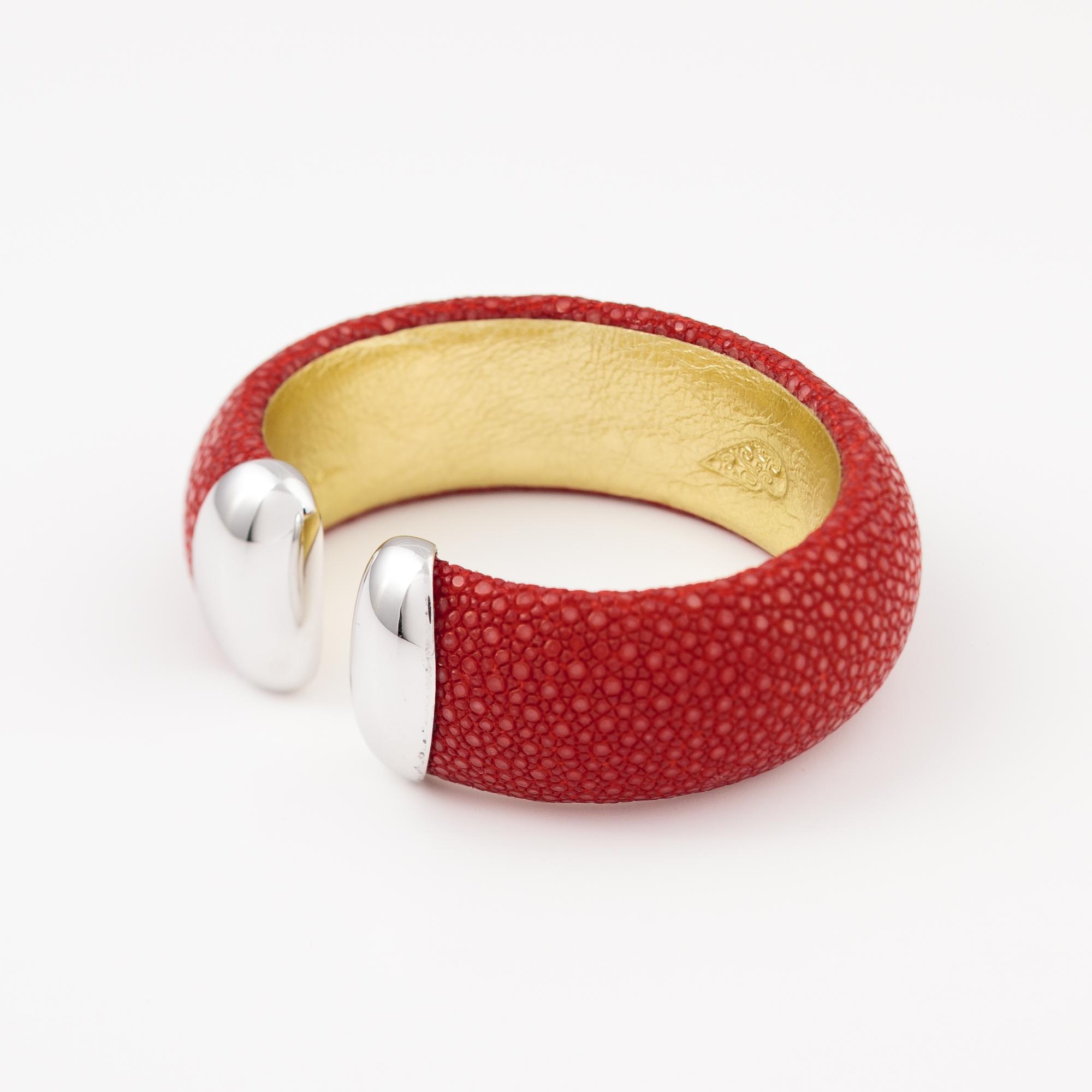 tresor-by-flore-galuchat-bracelet-craneuse-rouge