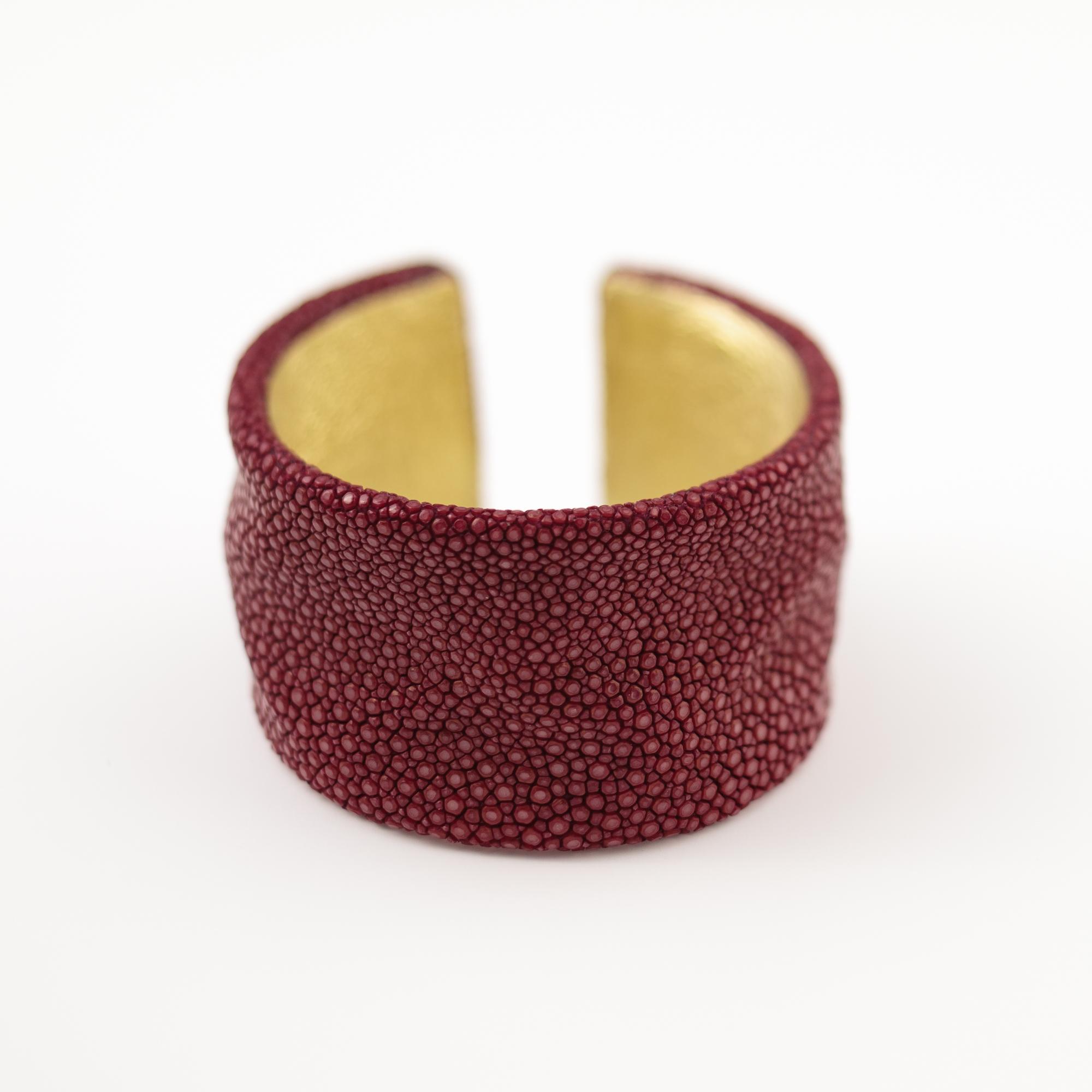 tresor-by-flore-galuchat-bracelet-froisse-bordeaux