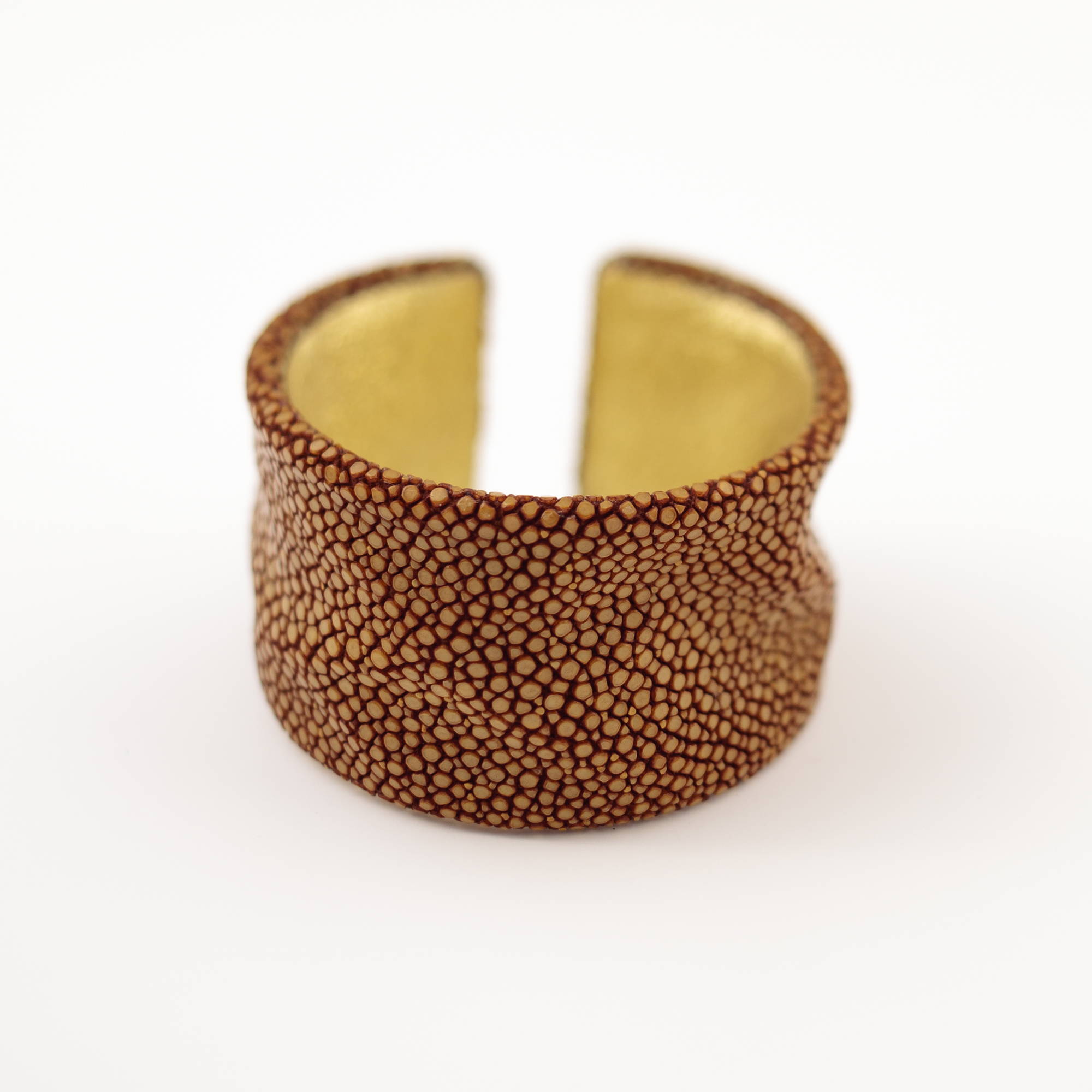 tresor-by-flore-galuchat-bracelet-froisse-moutarde