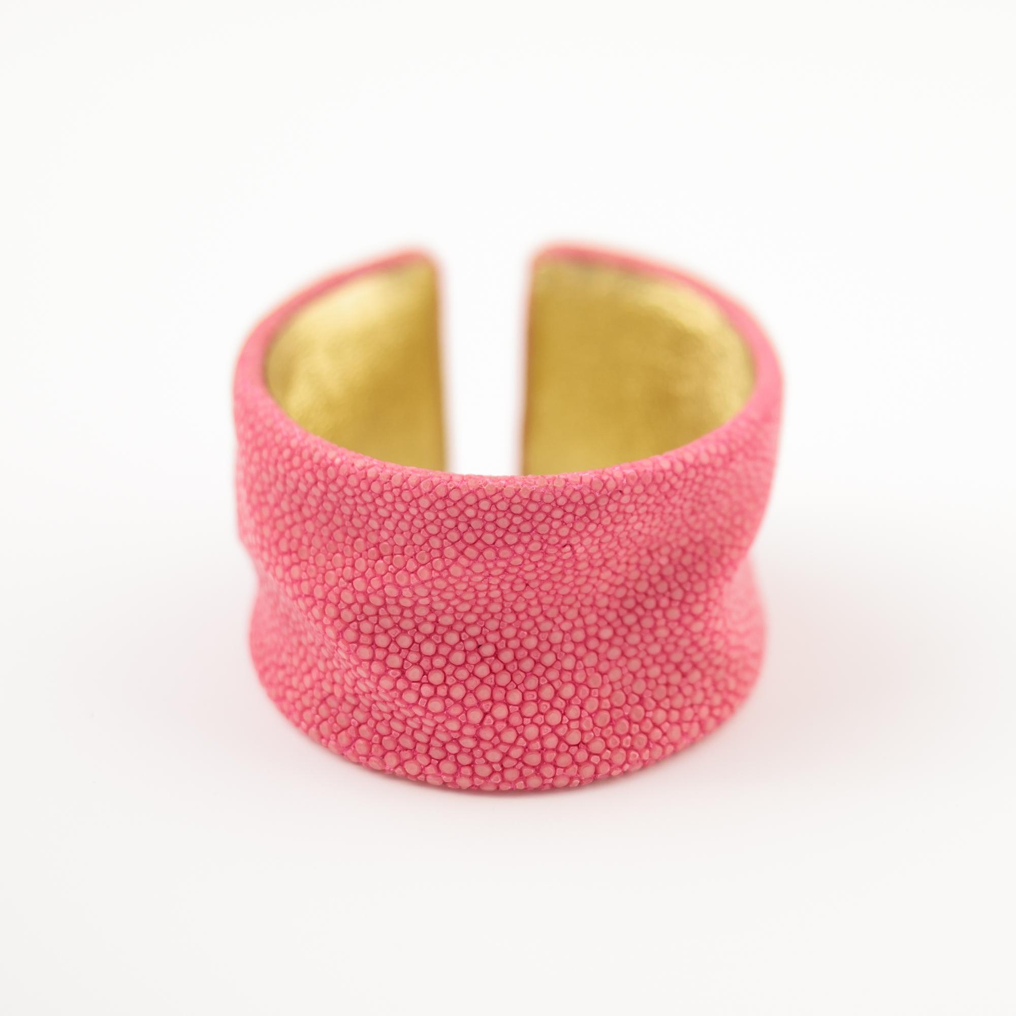 tresor-by-flore-galuchat-bracelet-froisse-rose