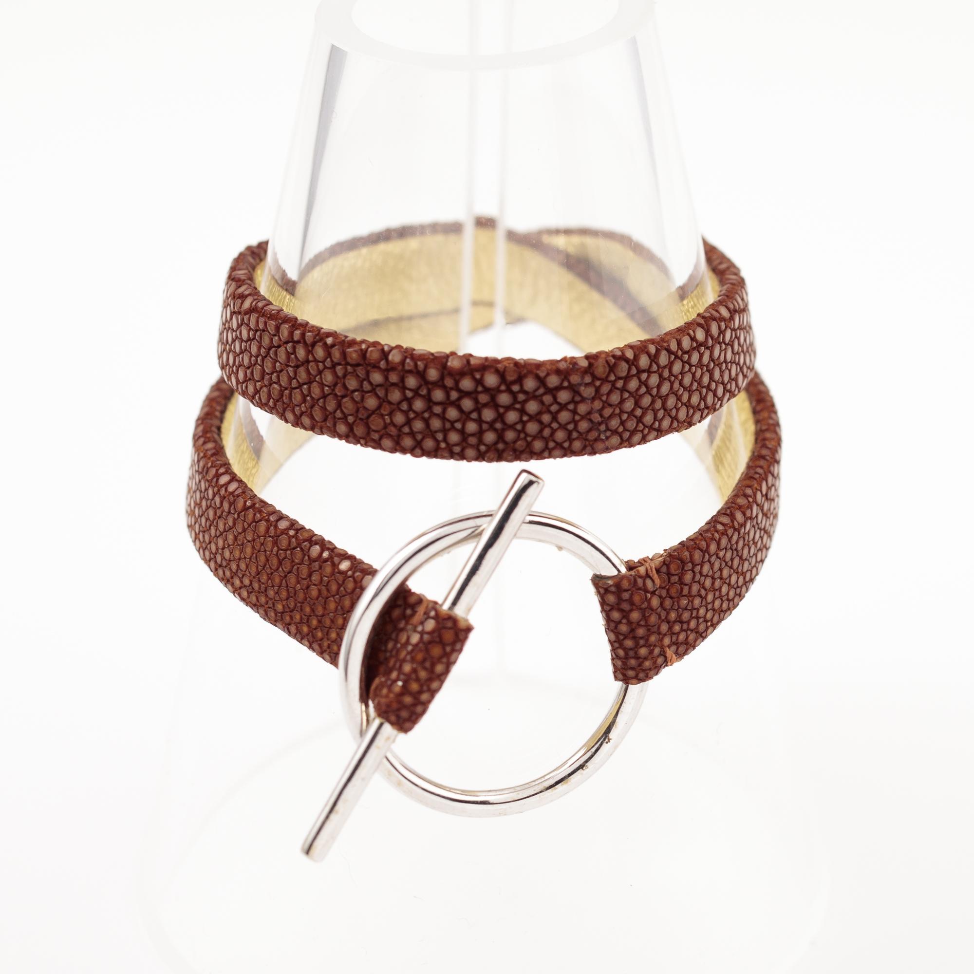 tresor-by-flore-galuchat-bracelet-mors-caramel