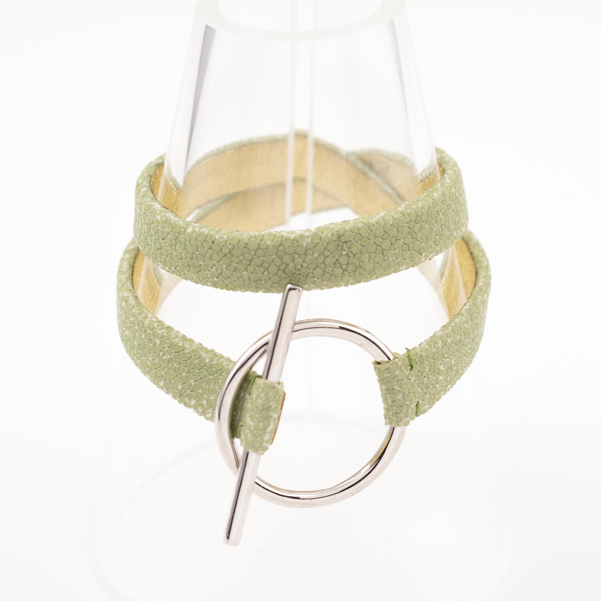 tresor-by-flore-galuchat-bracelet-mors-celadon