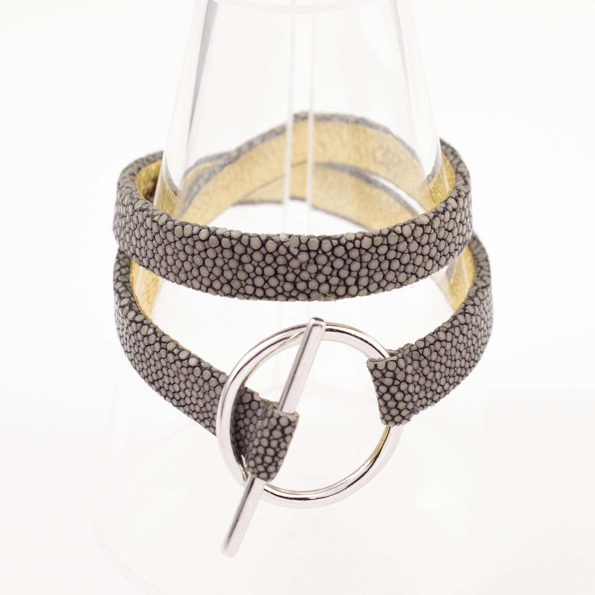tresor-by-flore-galuchat-bracelet-mors-gris