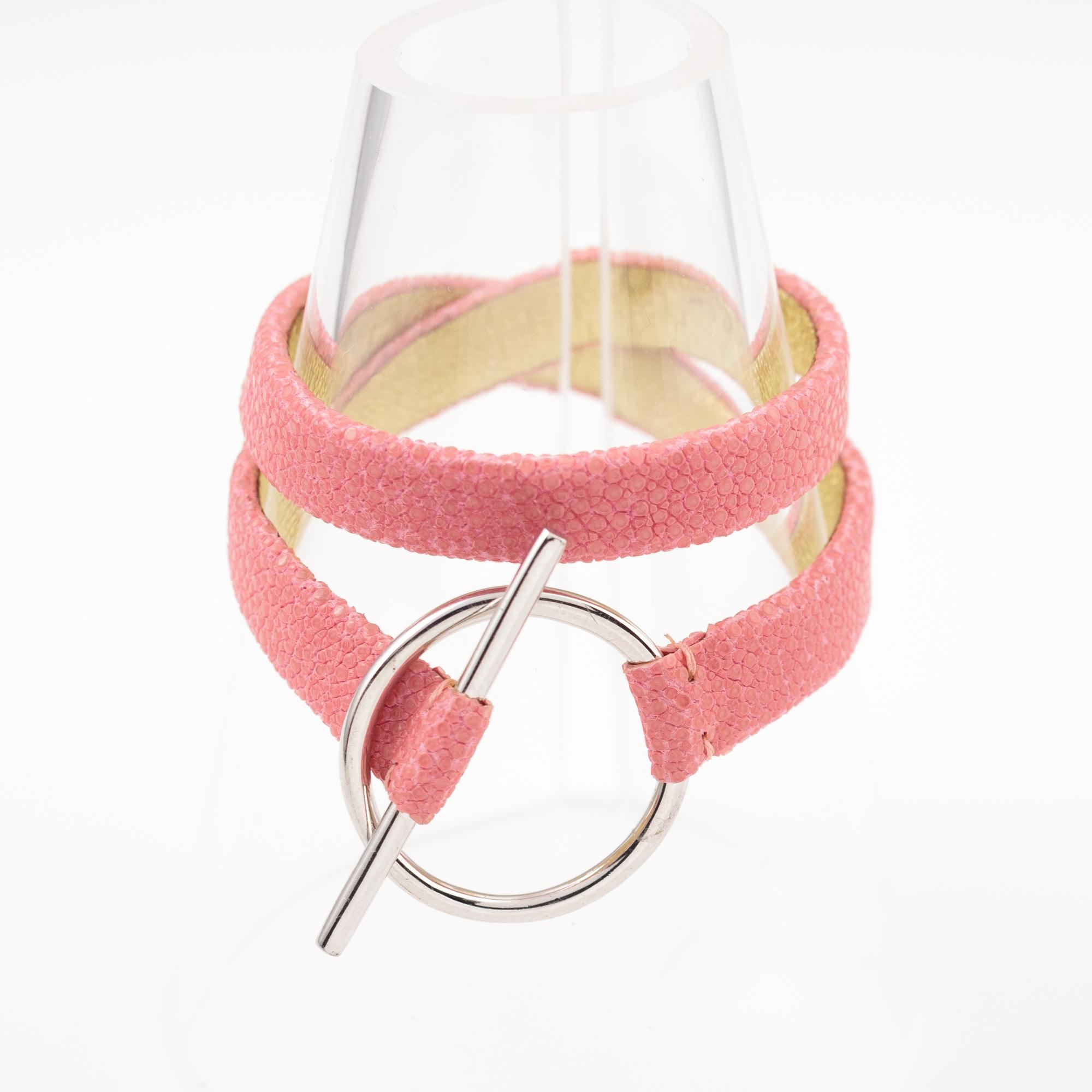 tresor-by-flore-galuchat-bracelet-mors-rose