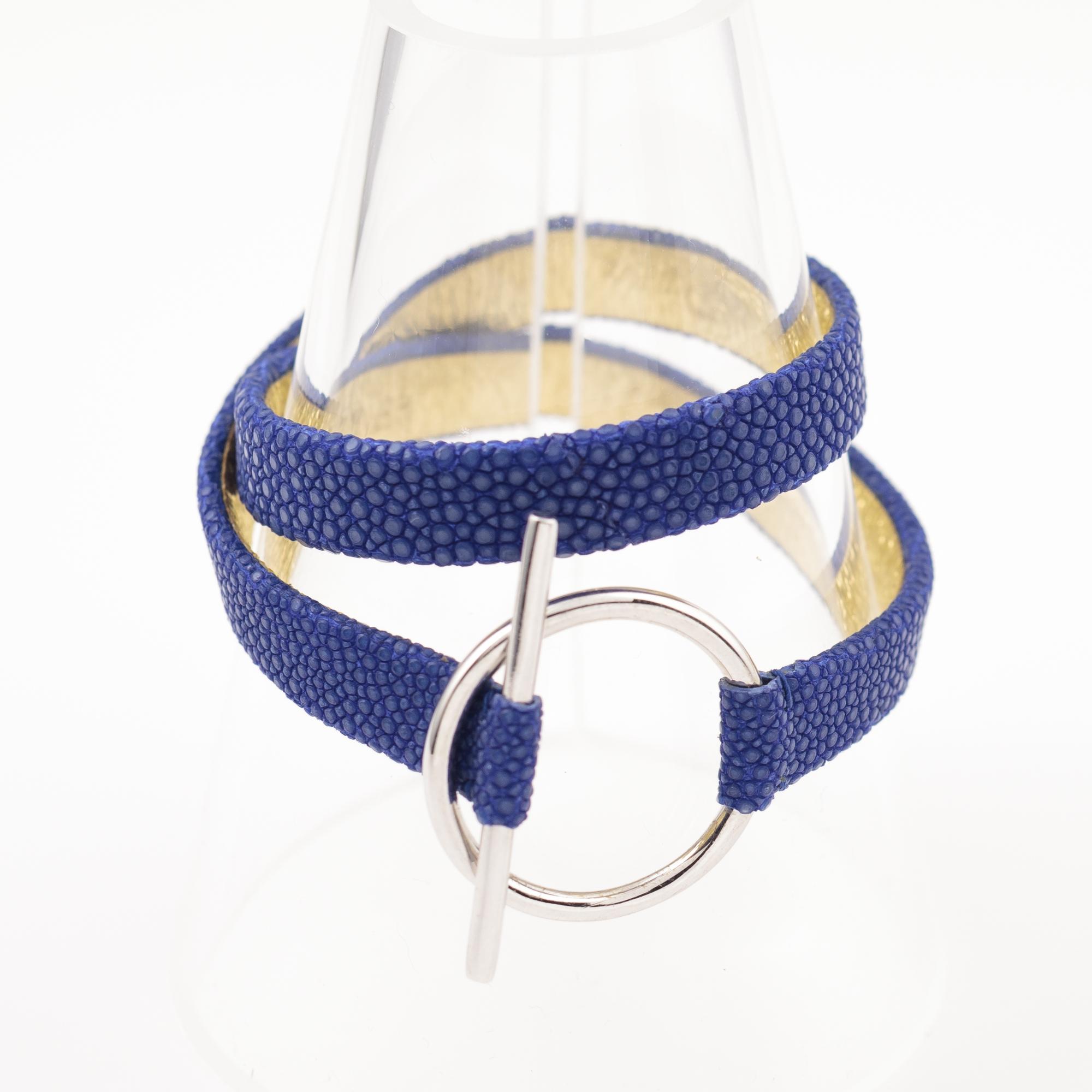 tresor-by-flore-galuchat-bracelet-mors-saphir