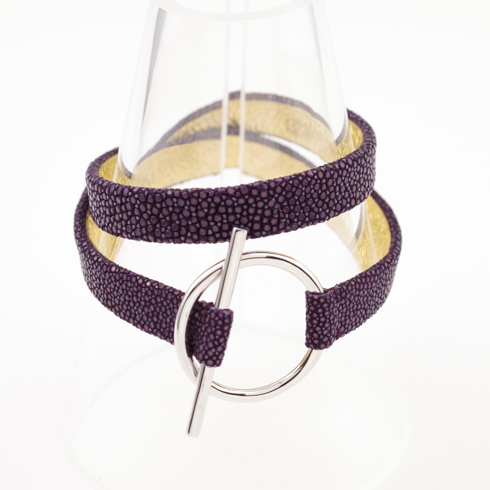 tresor-by-flore-galuchat-bracelet-mors-violet