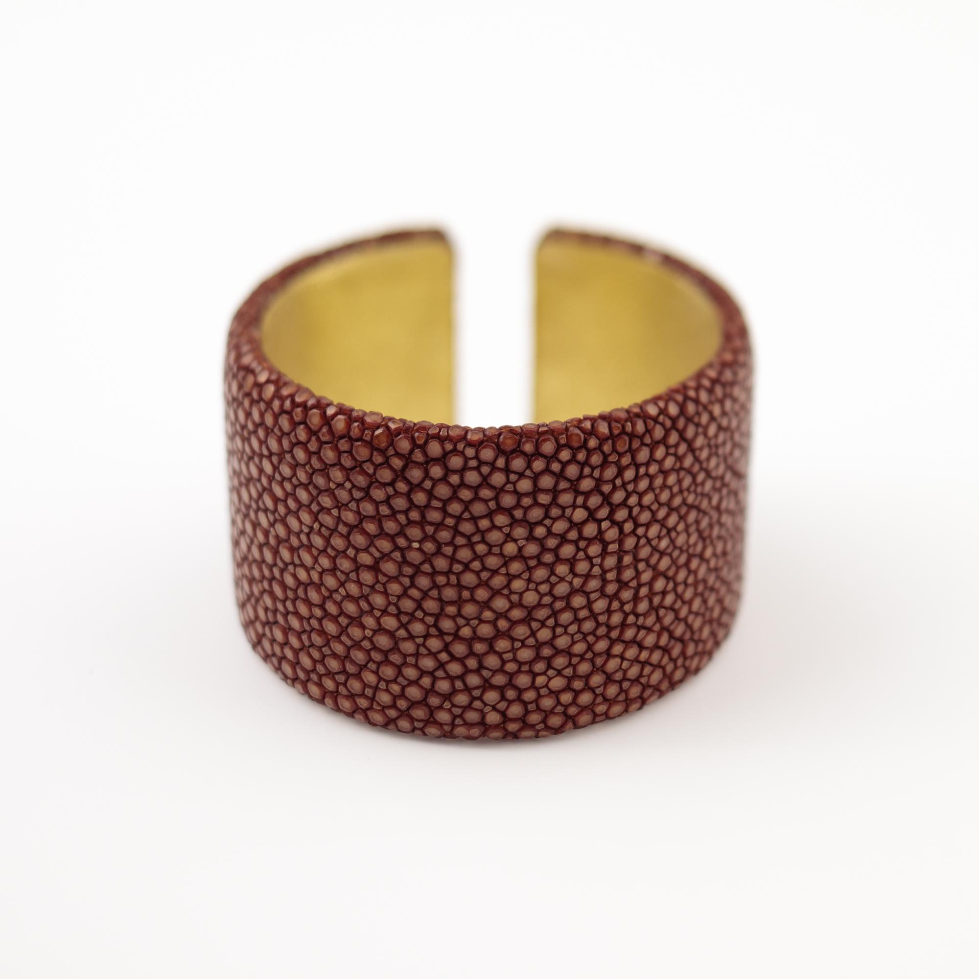 tresor-by-flore-galuchat-bracelet-plat-caramel