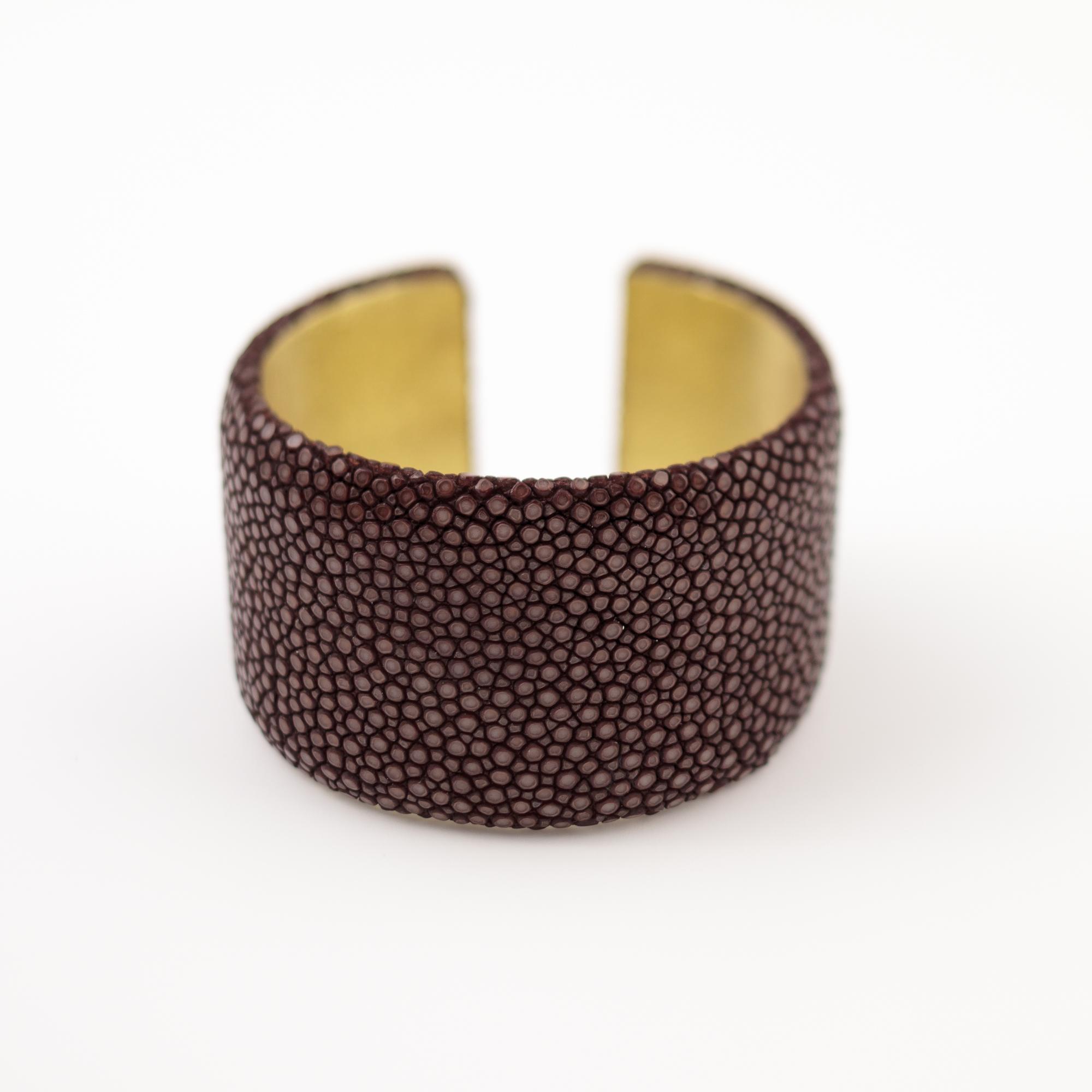 tresor-by-flore-galuchat-bracelet-plat-chocolat