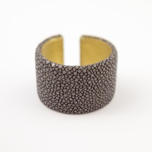 tresor-by-flore-galuchat-bracelet-plat-gris