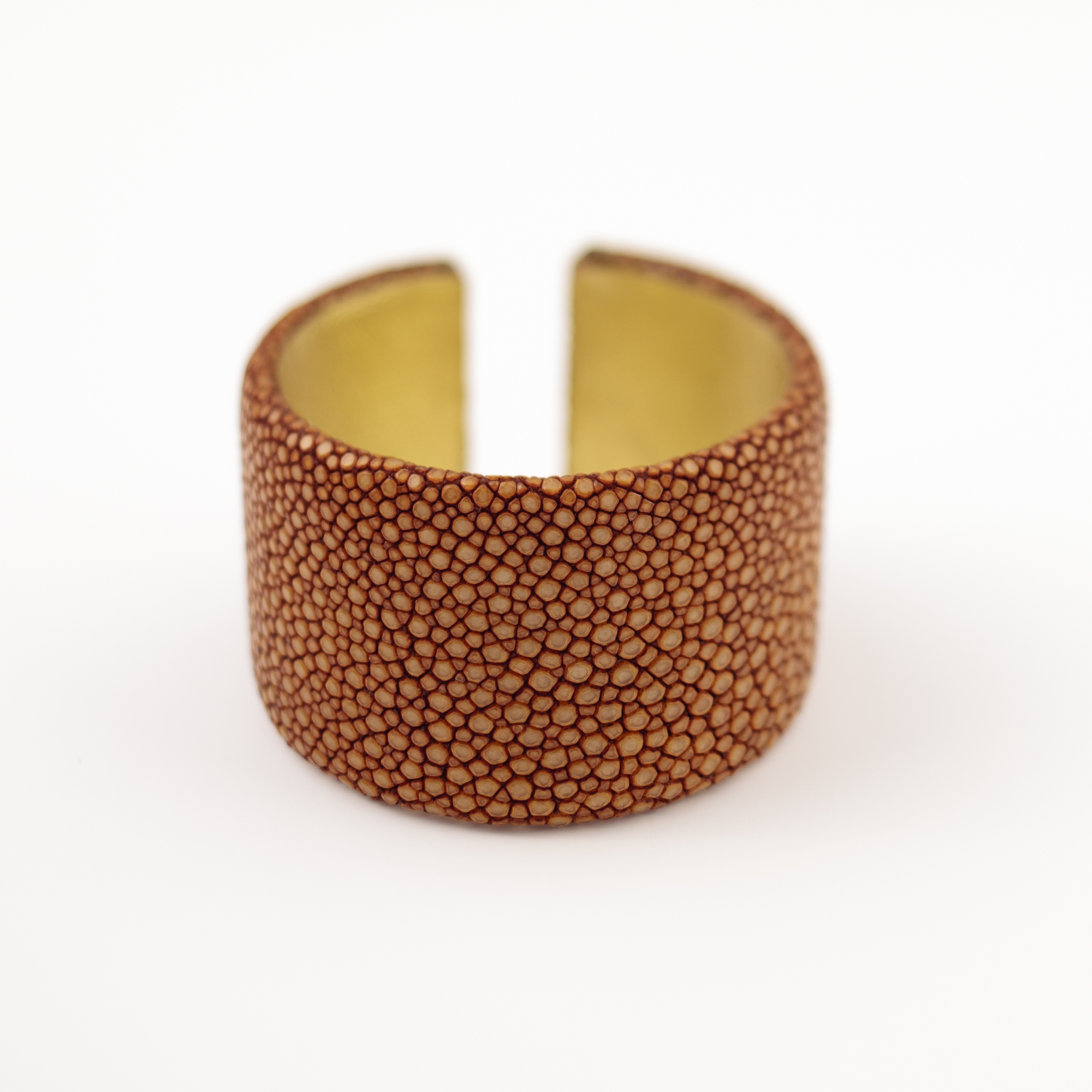 tresor-by-flore-galuchat-bracelet-plat-moutarde