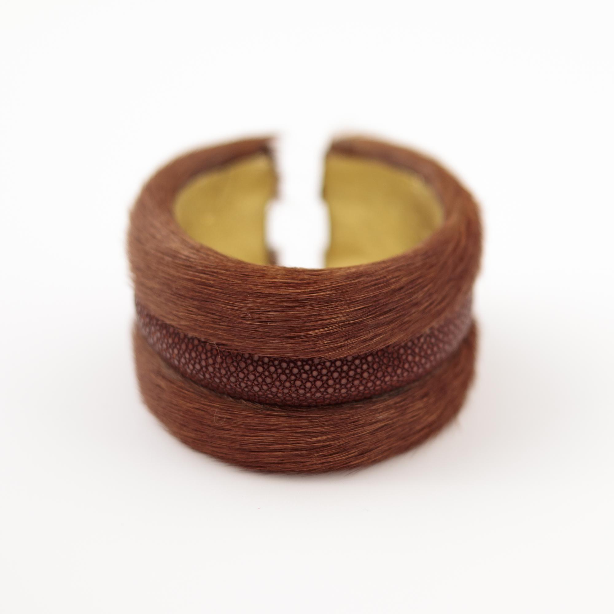 tresor-by-flore-galuchat-bracelet-poilu-marron-caramel