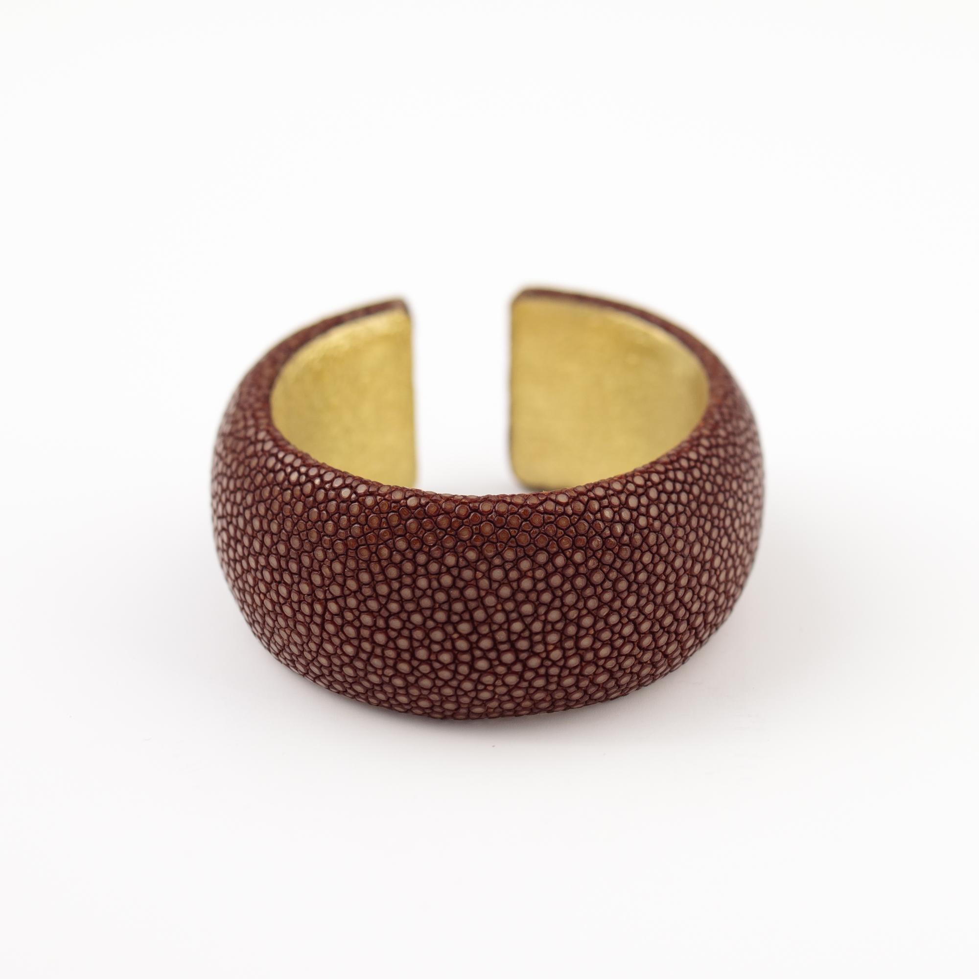 tresor-by-flore-galuchat-bracelet-simplicite-medium-caramel