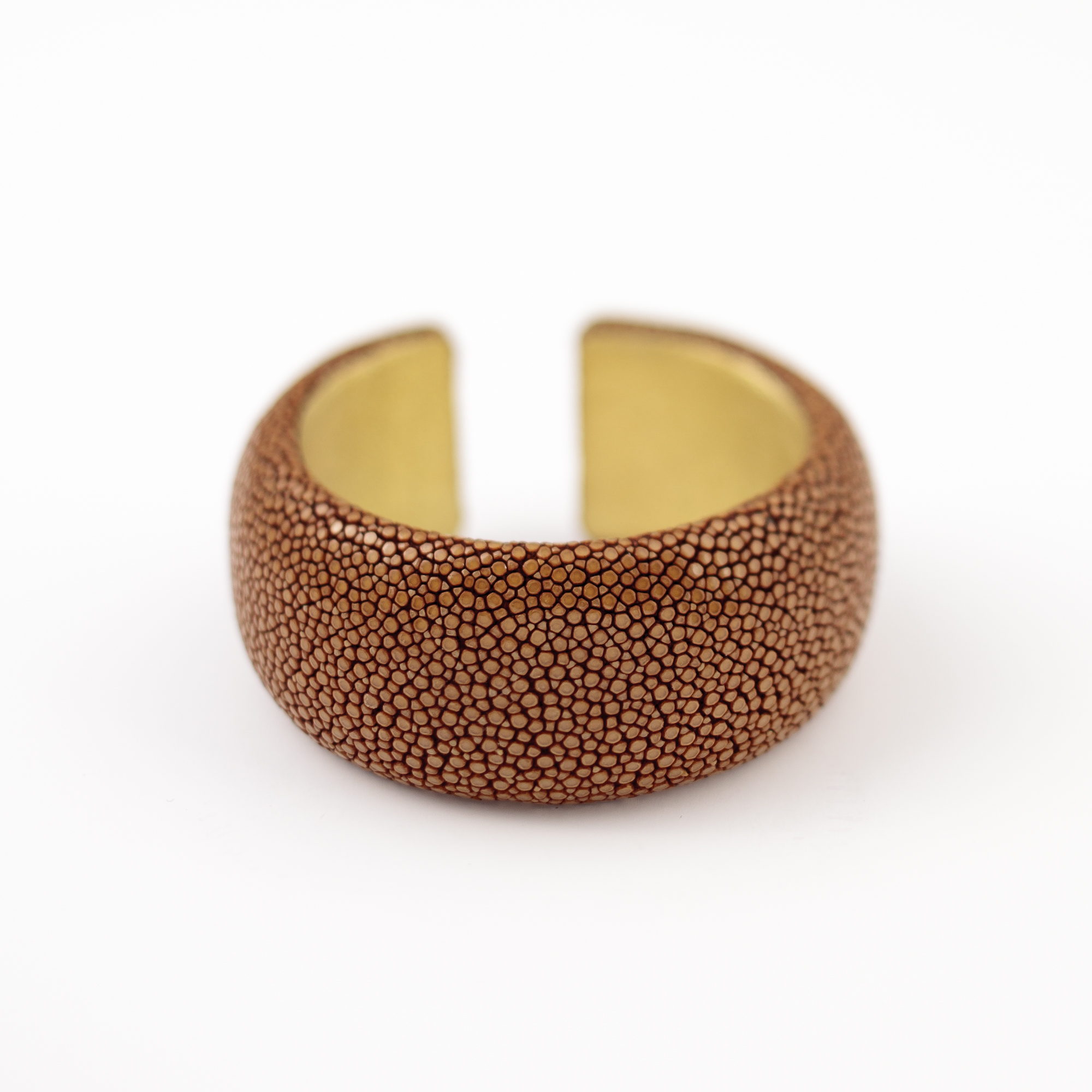 tresor-by-flore-galuchat-bracelet-simplicite-medium-moutarde
