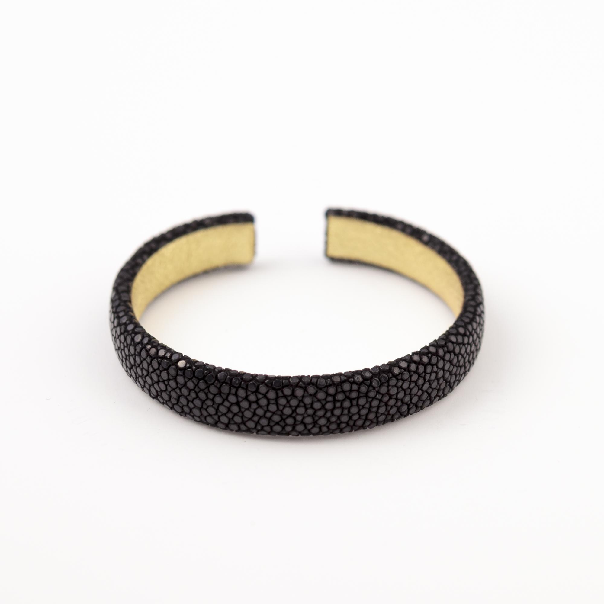 tresor-by-flore-galuchat-bracelet-simplicite-small-noir