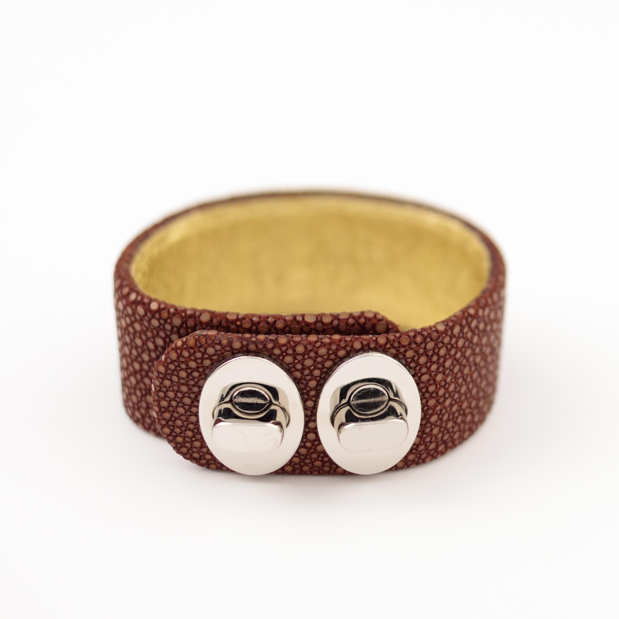 tresor-by-flore-galuchat-bracelet-two-caramel
