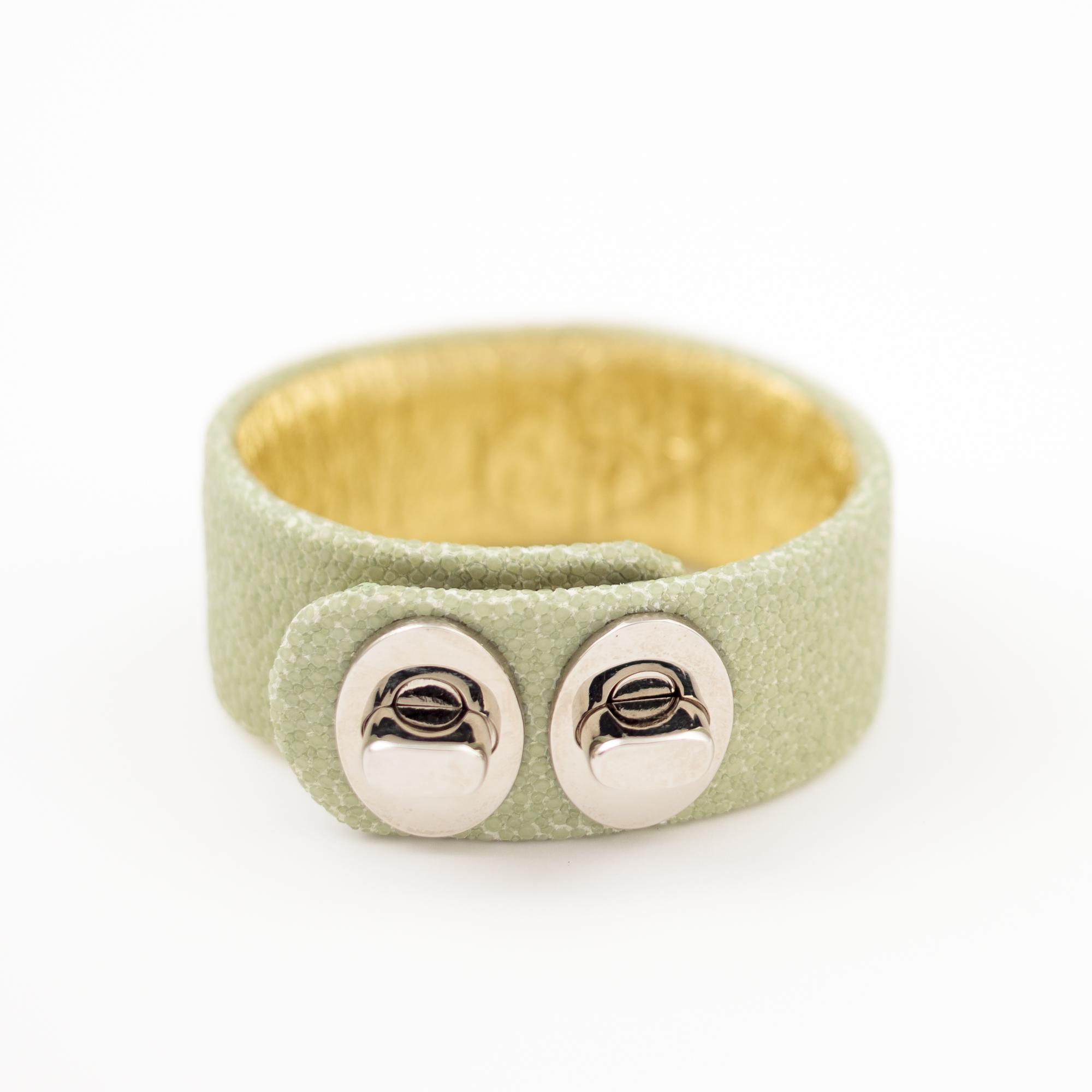 tresor-by-flore-galuchat-bracelet-two-celadon