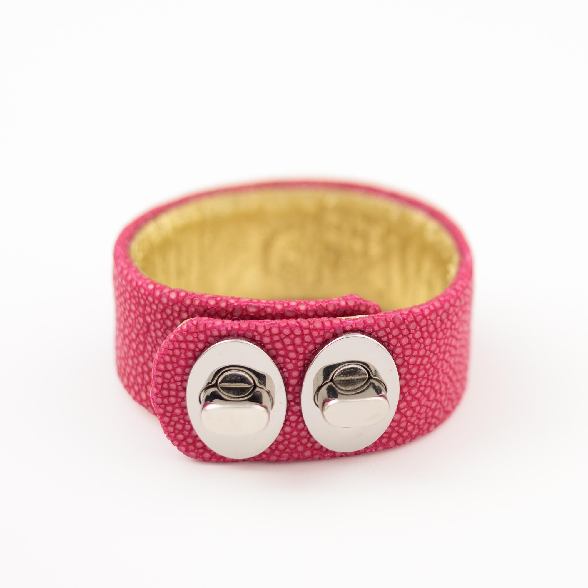 tresor-by-flore-galuchat-bracelet-two-fushia