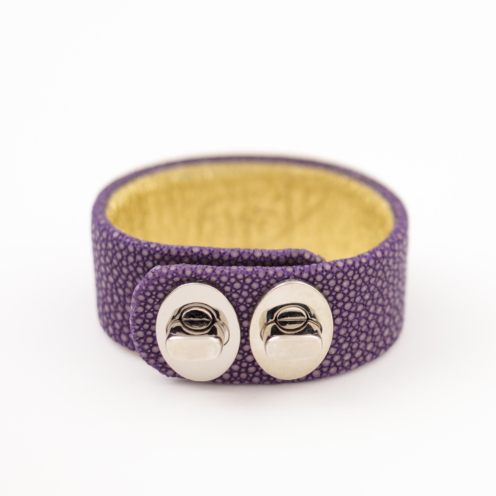 tresor-by-flore-galuchat-bracelet-two-lavande